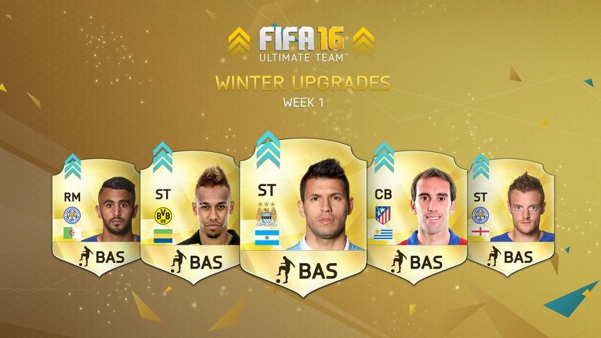 FIFA 16 Ultimate Team Winter Upgrades - Week 1