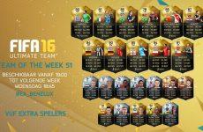 FUT 16: Team of the Week 51