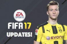 De eerste updates voor FIFA 17