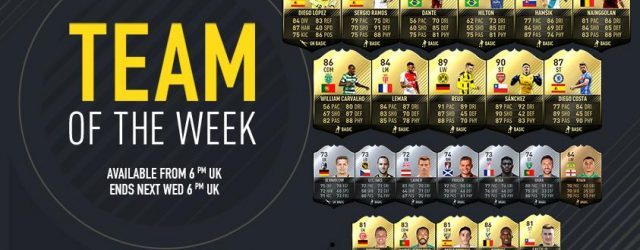 FIFA 17: Team of the Week 12