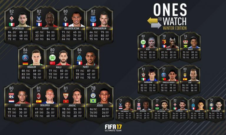 FIFA 17: One To Watch – Winter