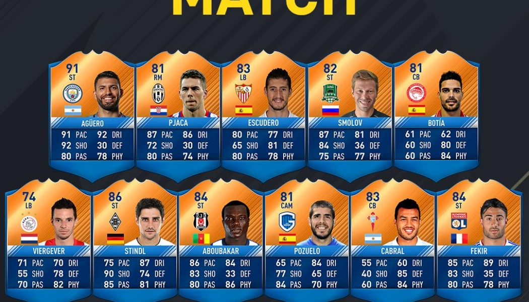 FIFA 17: CL/EL MOTM