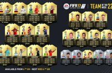 FIFA 17: Team of the Week 22