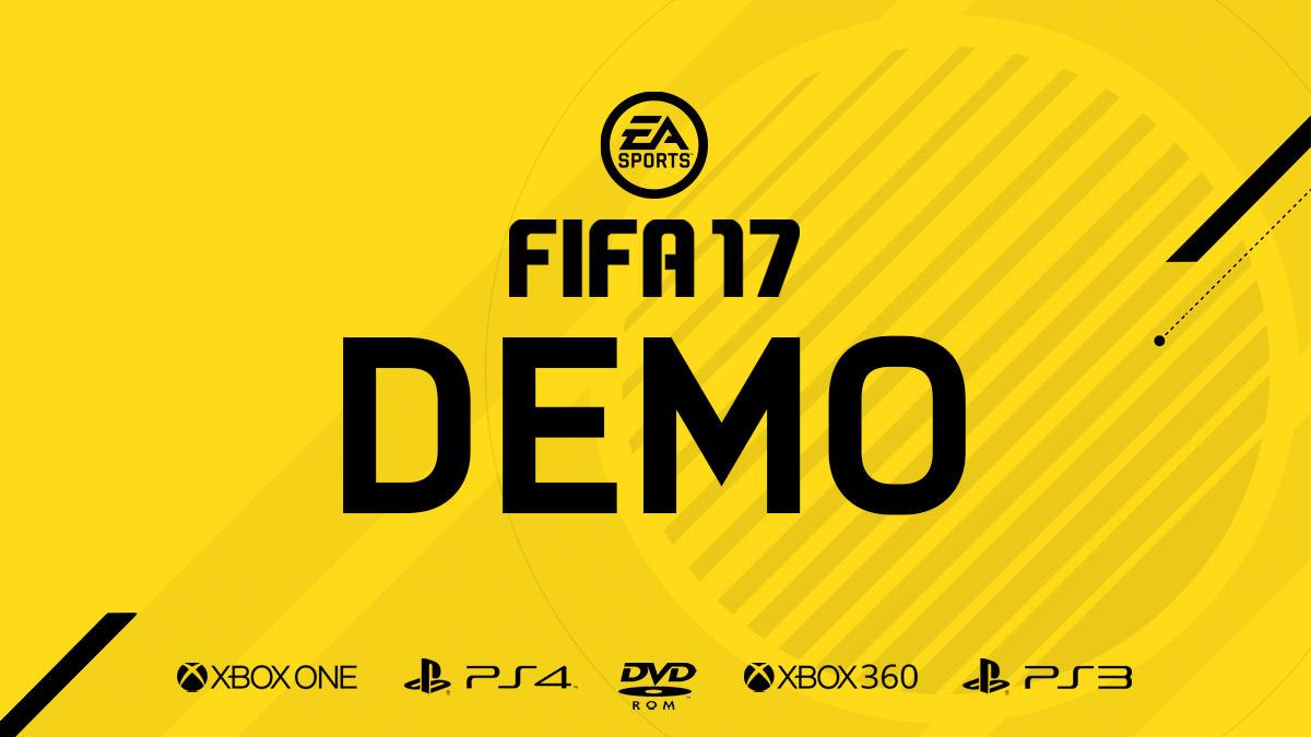 Eerste details voor FIFA 17 demo bekend