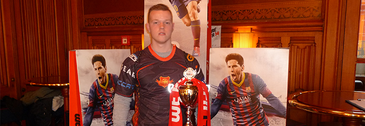 Tony Kok – Nederlands kampioen FIFA 12